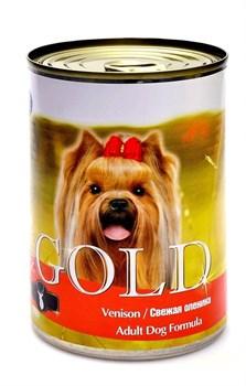 Nero Gold Super Premium - Консервы для собак (свежая оленина) Dog Adult Venison - фото 5080