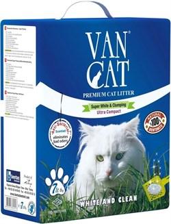 Van Cat - Наполнитель комкующийся для кошек (с антибактериальным эффектом) Antibacterial - фото 5131