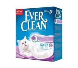 Ever Clean - Наполнитель комкующийся для кошек (с ароматом лаванды) Lavender - фото 5142