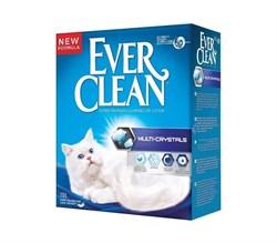Ever Clean - Наполнитель комкующийся с силикагелем для кошек (сиреневая полоса) Multi Crystals Blend - фото 5144
