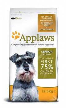 Applaws - Сухой корм беззерновой для пожилых собак (с курицей и овощами) Dry Dog Chicken Senior - фото 5186