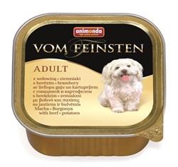Animonda - Консервы для собак (с говядиной и картофелем) Vom Feinsten Adult - фото 5224