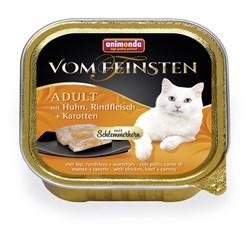 """Animonda - Консервы для взрослых кошек """"Меню для гурманов"""" (с курицей, говядиной и морковью) Vom Feinsten Adult - фото 5242"""