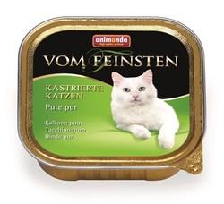 Animonda - Консервы для кастрированных кошек (с отборной индейкой) Vom Feinsten - фото 5247