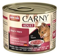 Animonda - Консервы для кошек (с говядиной и сердцем) CARNY Adult - фото 5250
