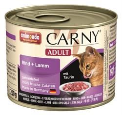 Animonda - Консервы для кошек (с говядиной и ягнёнком) CARNY Adult - фото 5251