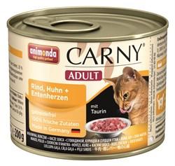 Animonda - Консервы для кошек (с курицей и уткой) CARNY Adult - фото 5254