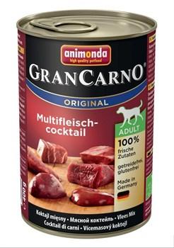 Animonda - Консервы для взрослых собак (мясной коктейль) GranCarno Original Adult - фото 5257
