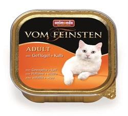 Animonda - Консервы для взрослых кошек (с домашней птицей и телятной) Vom Feinsten Adult - фото 5264