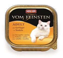 Animonda - Консервы для взрослых кошек (с мясом домашней птицы и пастой) Vom Feinsten Adult - фото 5268