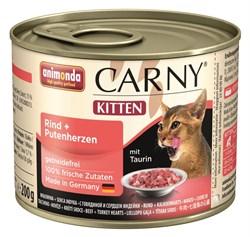 Animonda - Консервы для котят (с говядиной и сердцем индейки) CARNY Kitten - фото 5276