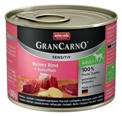 Animonda - Консервы для чувствительных собак (c говядиной и картофелем) GranCarno Sensitiv - фото 5284