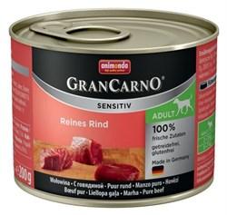 Animonda - Консервы для чувствительных собак (c говядиной) GranCarno Sensitiv - фото 5285