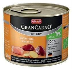 Animonda - Консервы для чувствительных собак (c индейкой и картофелем) GranCarno Sensitiv - фото 5286
