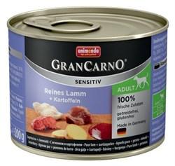 Animonda - Консервы для чувствительных собак (c ягнёнком и картофелем) GranCarno Sensitiv - фото 5290