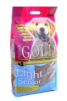 Nero Gold Super Premium - Сухой корм для пожилых собак (индейка и рис) Light Senior - фото 5329