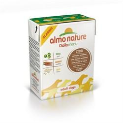 Almo Nature - Консервы для собак (с курицей и говядиной) Daily Menu Chicken & Beef Tetrapack - фото 5342