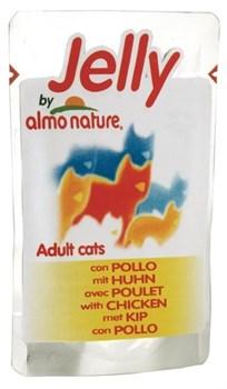 Almo Nature - Паучи для кошек (курица в желе) Jelly Cat Chicken - фото 5351
