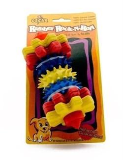 """Benelux - Игрушка резиновая для собак """"Для чистки зубов №3"""" 15*7*7 см - фото 5428"""