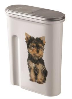 "Curver PetLife - Контейнер для корма ""Собака"" на 1,5кг/4,5л , 25*10*30см - фото 5653"