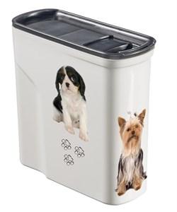 """Curver PetLife - Контейнер для корма """"Собачье счастье"""" малый на 2 л, 20*9*19 см - фото 5656"""