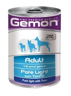 Gemon Dog - Облегченный паштет для собак (с тунцом) Light - фото 5702