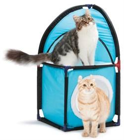"""Kitty City - Домик для кошек Место встречи """"Kitty Corner"""", 72*36*36см - фото 5714"""