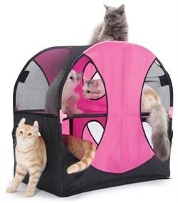 """Kitty City - Игровой комплекс для кошек Колесо обозрения """"Wheel of Fun"""", 66*66*43см - фото 5716"""