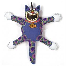 "Kitty City - Игрушка ""Кот-забияка"" мини FATCAT Mini Terrible Nasty Scaries, синий - фото 5725"