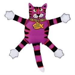 "Kitty City - Игрушка ""Кот-забияка"" мини FATCAT Mini Terrible Nasty Scaries, фиолетовый - фото 5726"