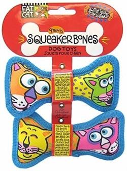 Kitty City - Игрушка «Косточка – пищалка» FATCAT Mini Squeaker Bones - фото 5728
