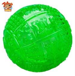 """Kitty City - Игрушка для собак """"Мяч для развлечения и угощения"""" Toby's Choice Treat Ball, 8,2 см - фото 5731"""