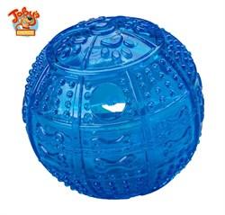 """Kitty City - Игрушка для собак """"Мяч для развлечения и угощения"""" Toby's Choice Treat Ball, 8,2 см - фото 5732"""