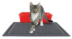 Kitty City - Коврик для туалета Medium Rubber Litter Mat, 40 x 50 x 0.7 см - фото 5734