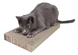 Kitty City - Когтеточка доска большая Wide corrugare sctratcher, 4*25*46 см - фото 5736