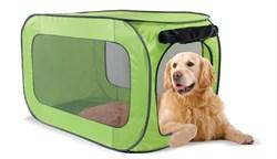 Kitty City - Переносной домик для собак гигантских пород Portable Dog Kennel X-Large, 102*62*62 см - фото 5743