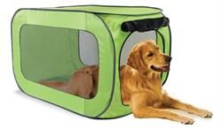 Kitty City - Переносной домик для собак крупных пород Portable Dog Kennel Large, 91*55*55 см - фото 5744
