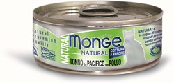 Monge - Консервы для кошек (тихоокеанский тунец с курицей) Cat Natural - фото 6026