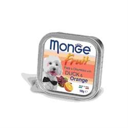 Monge - Консервы для собак (утка с апельсином) Dog Fruit - фото 6044
