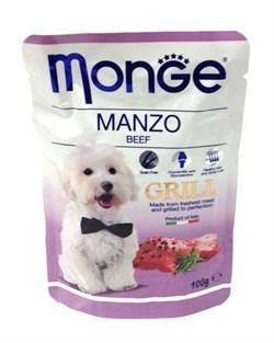 Monge - Паучи для собак (говядина) Dog Grill Pouch - фото 6048