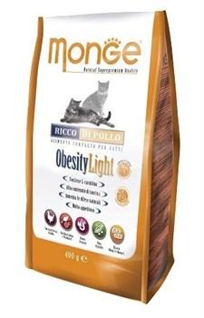 Monge - Сухой корм для кошек низкокалорийный (курица) Cat Obesity Light - фото 6059
