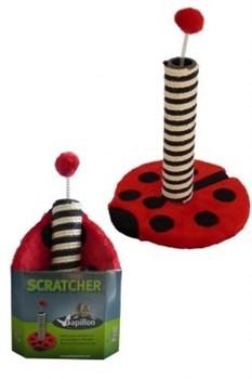 "Papillon - Когтеточка ""Божья коровка"" 43*31*31см (Cat scratcher ladybird red/black in promobox) - фото 6082"