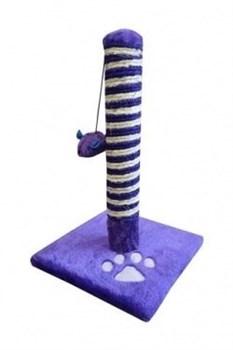 """Papillon - Когтеточка """"Эко-Столбик"""" фиолетовая, 25*25*43см (Scratcher Guus eco violet) - фото 6089"""