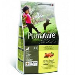 Pronature Holistic - Сухой корм для щенков (курица со сладким картофелем) - фото 6126