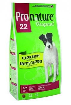 Pronature Original - Пронатюр 22 сухой корм для собак (ягненок и рис) - фото 6136