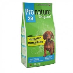 Pronature Original - Пронатюр 28 сухой корм для щенков мелких и средних пород (цыпленок) - фото 6148