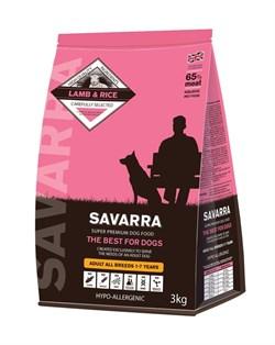 SAVARRA - Сухой корм для взрослых собак (ягненок с рисом) Adult Dog Lamb & Rice - фото 6156