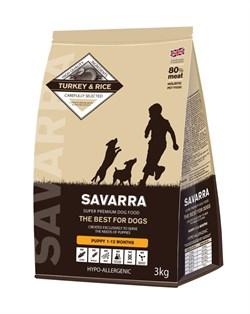SAVARRA - Сухой корм для щенков (индейка с рисом) Puppy Turkey & Rice - фото 6160