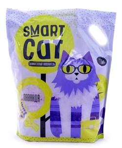Smart Cat - Наполнитель силикагелевый для кошек (с ароматом лаванды) - фото 6163