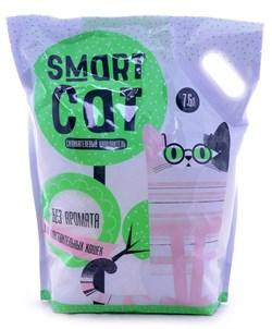 Smart Cat - Наполнитель силикагелевый для чувствительных кошек (без аромата) - фото 6165